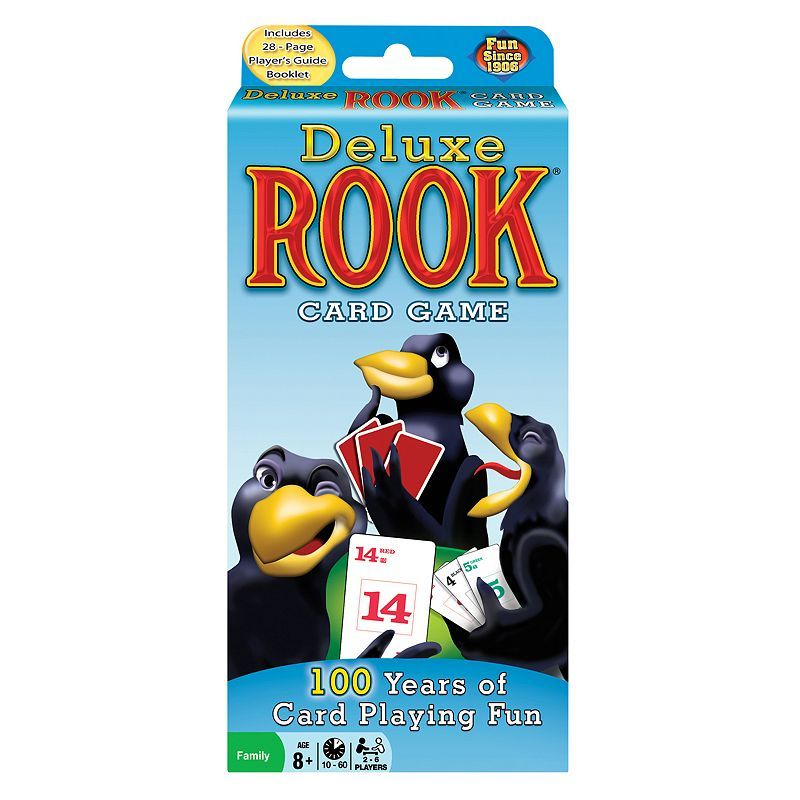 Deluxe Rook Card Game By Winning Moves In 2020 Rook Card Game Card Games Card Games For Kids