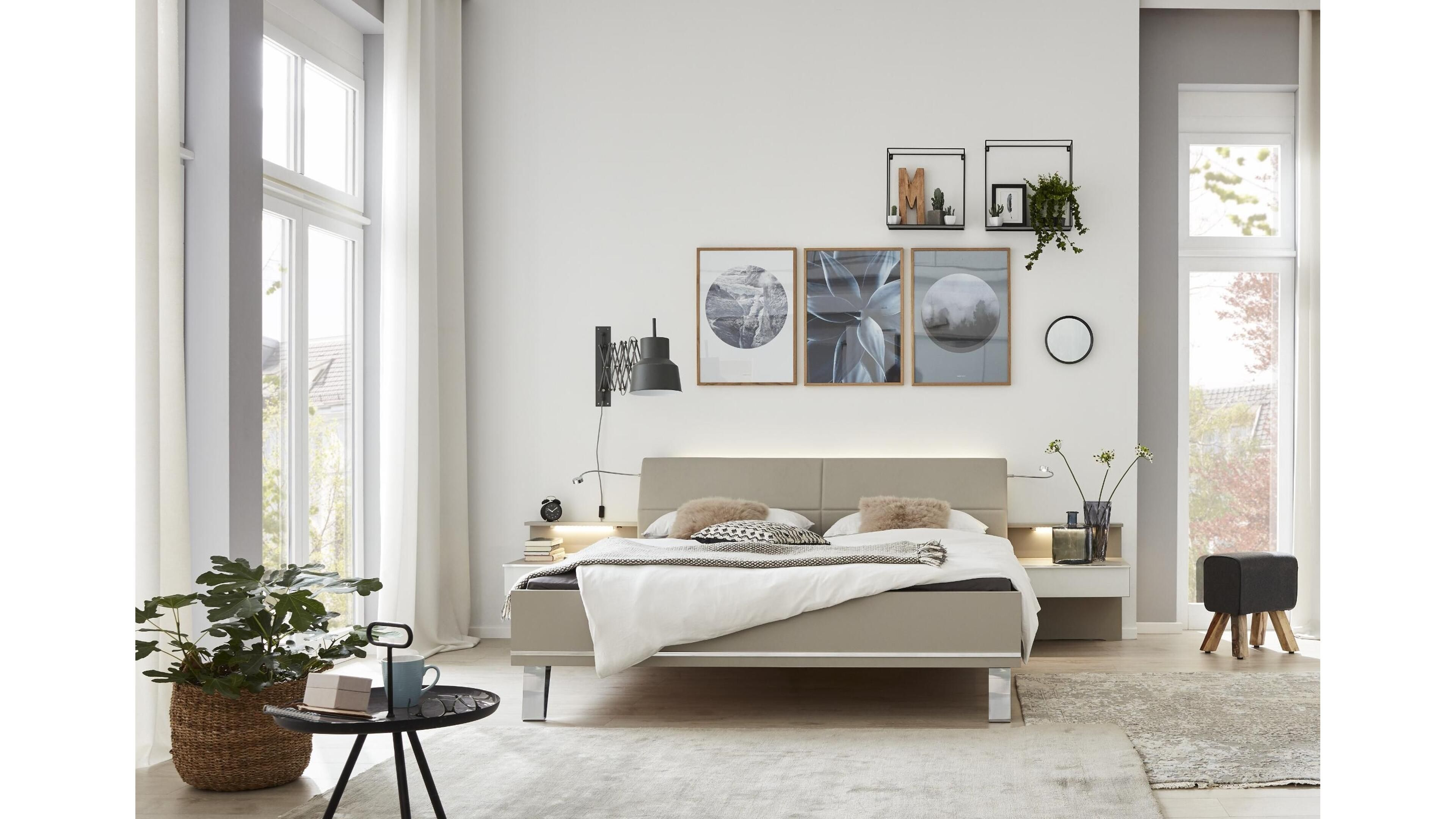 Ausserordentliche Eleganz Das Schlafzimmer Interliving 1009