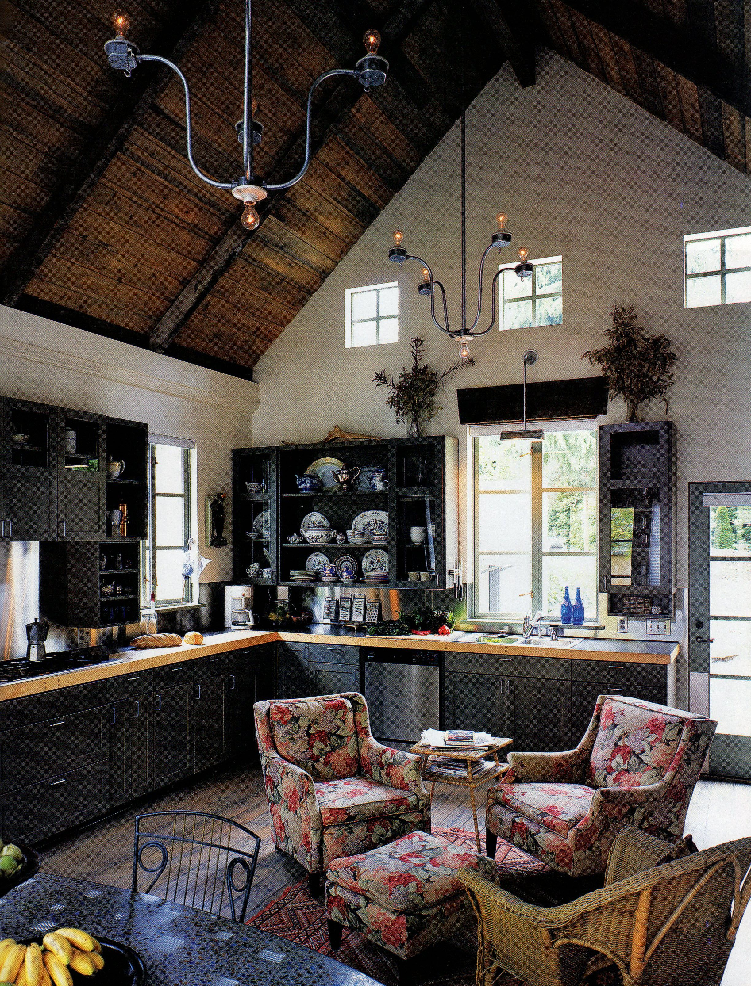 Kitchen Sitting Rooms Designs: Sitting Room In The Kitchen, Cozy!