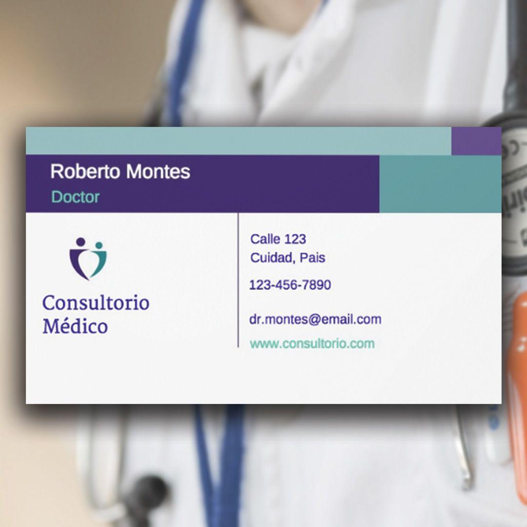 tarjetas de visita, tarjetas de presentacion, business card, medicos ...