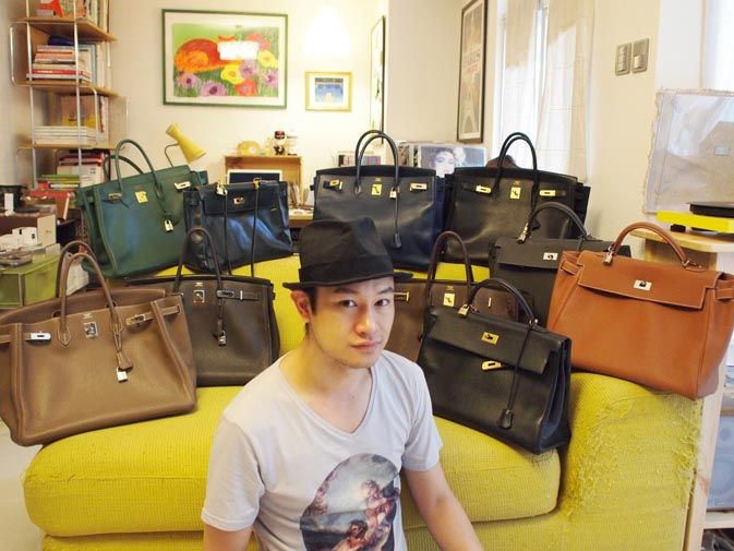7e323fc7fde Men Carrying Birkins  A motley crew. gary chung and his formidable hermes  collection. makes me feel better about contemplating getting a second birkin .