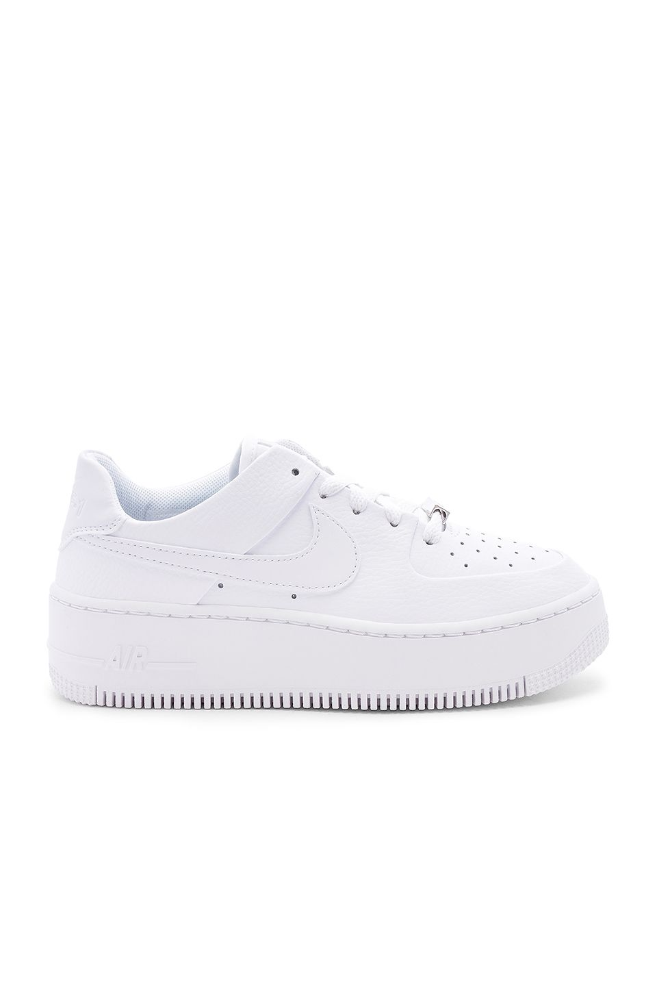 27906bf4fdbb Nike Air Force 1 Sage Low Sneaker in White
