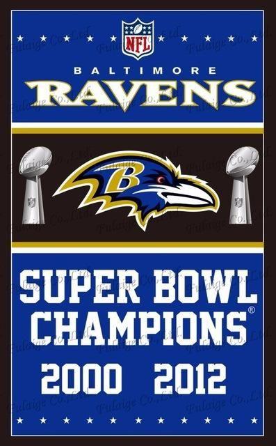 Baltimore Ravens Flag 3ft X 5ft Polyester Nfl Baltimore Ravens Banner Flying Size No 4 150 90cm Baltimore Ravens Football Ravens Football Baltimore Ravens