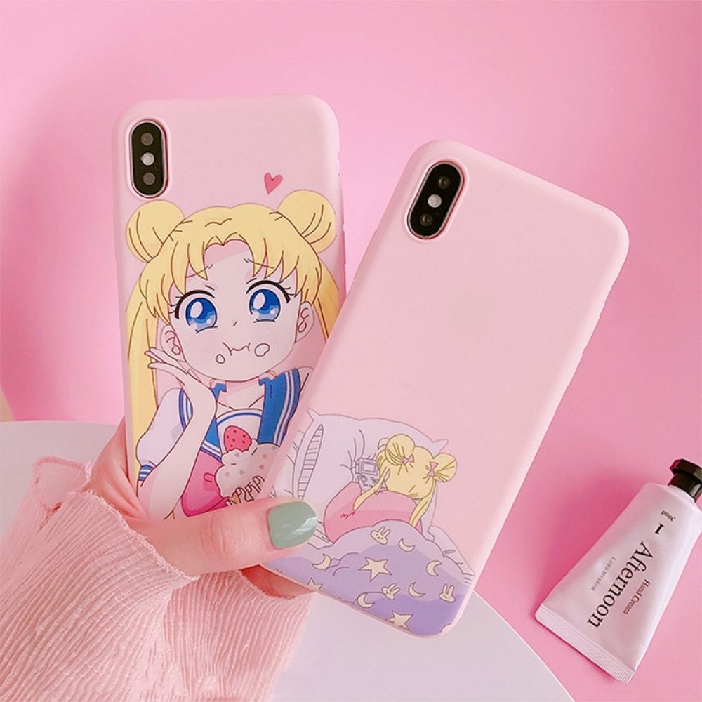 Sailor Moon Phone Case For Iphone | Sailor moon phone case, Kawaii ...