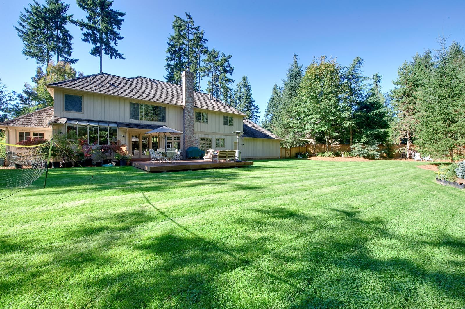 large yard | Redmond WA Home for Sale in Grousemont ...