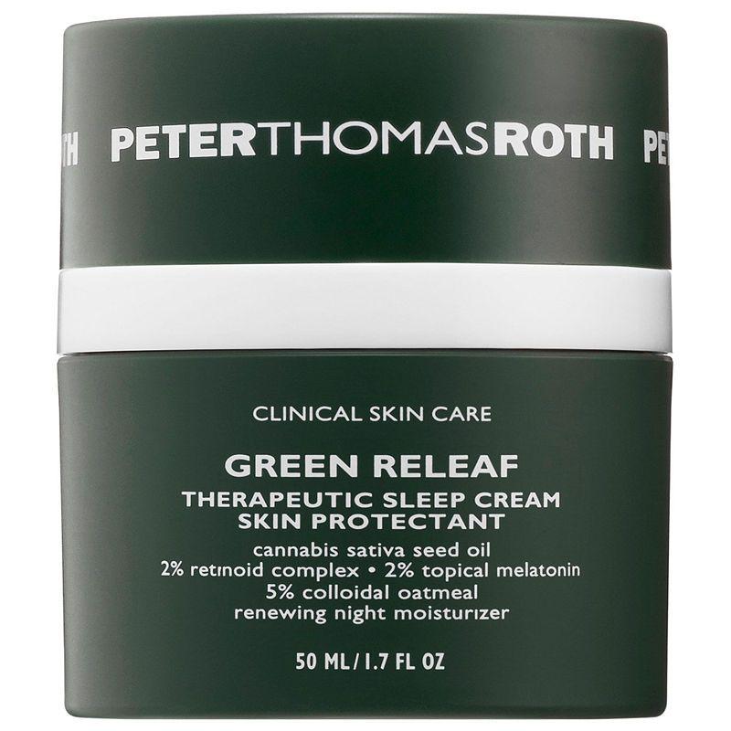 Peter Thomas Roth Green Releaf Therapeutic Sleep Cream Night Moisturizer Peter Thomas Roth Skin Care Clinic