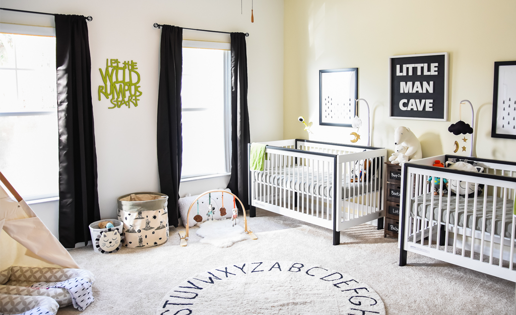 In The Nursery With Oh Happy Play With Images Nursery Twins