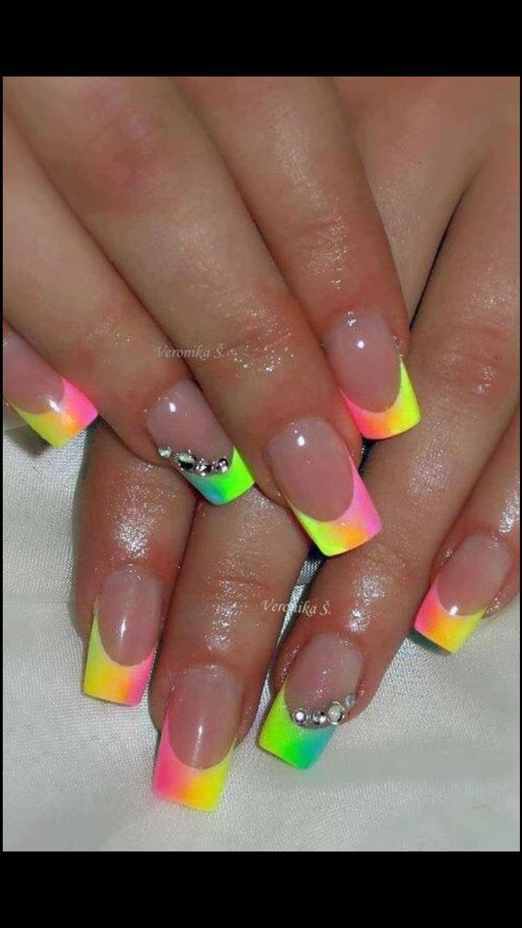 Pin by Kelly Kerr on Nails | Pinterest | Jamaica nails, Mani pedi ...