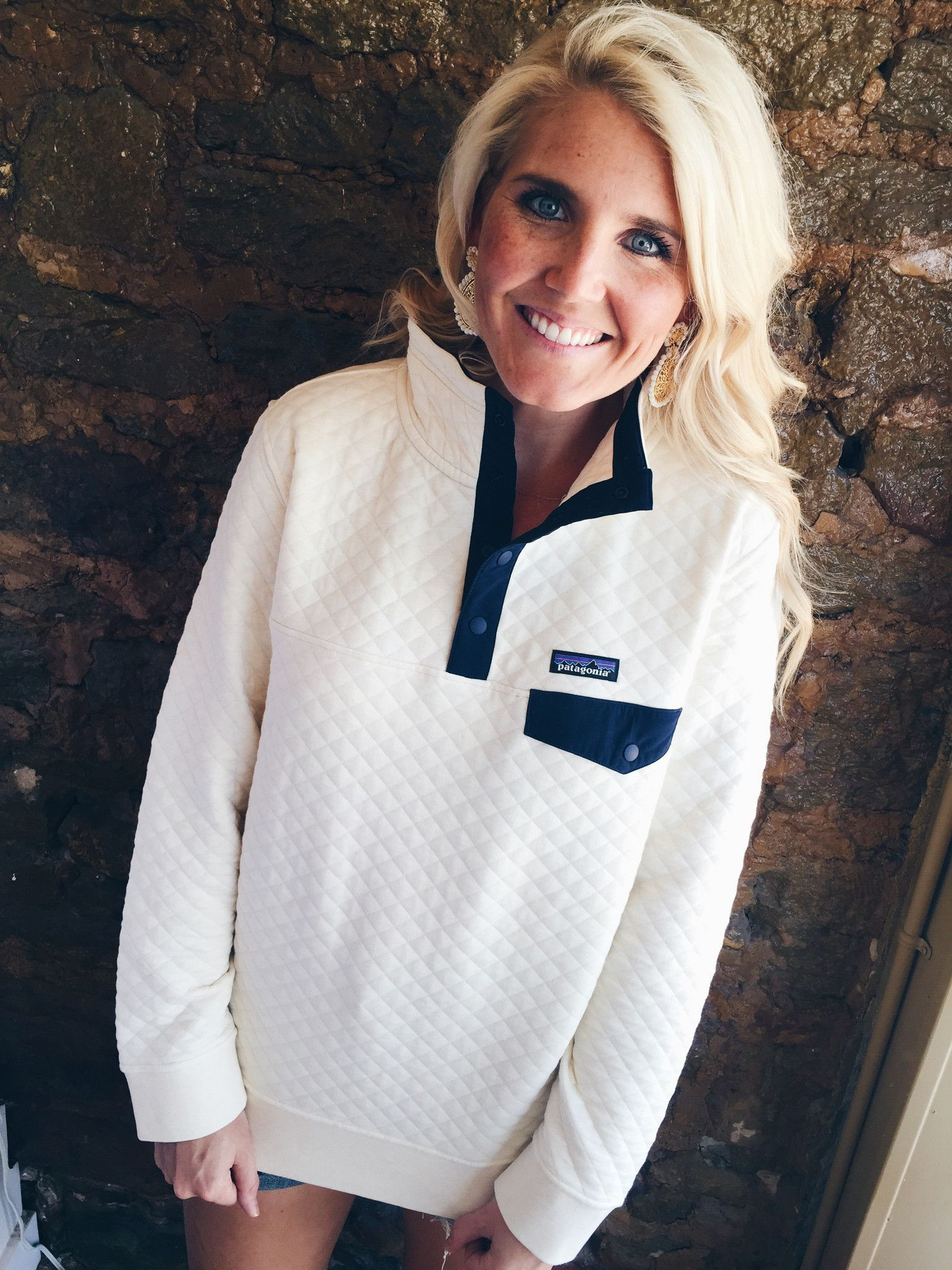 Patagonia Women S Cotton Quilt Snap T Pullover Toasted