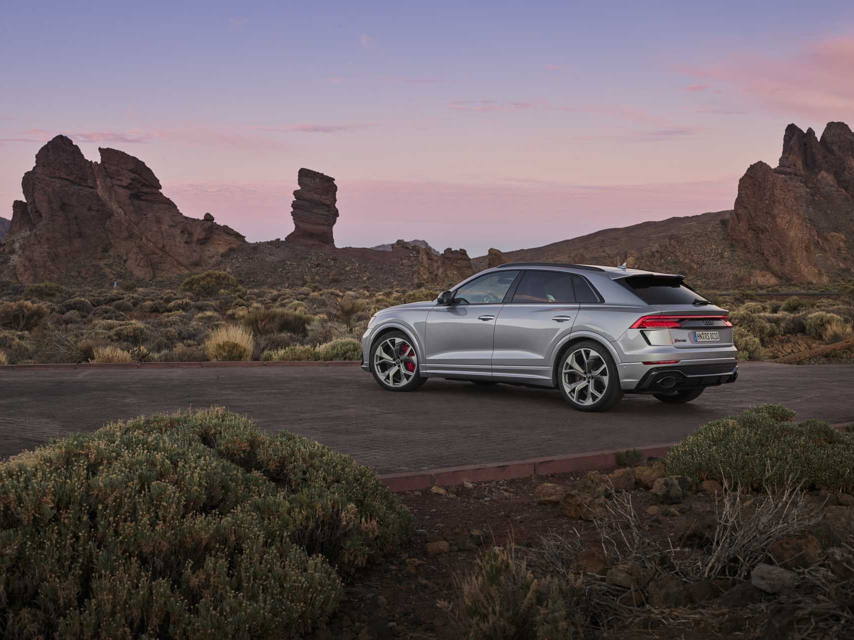 First Drive Review 2020 Audi Rs Q8 Rides A Wave Of Blisteringly Fast Family Suvs Audi Rs Audi First Drive