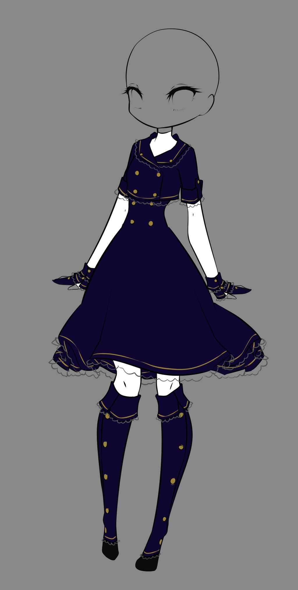 Winter dress by rika dono deviantart com on deviantart anime dress