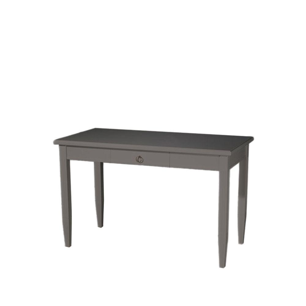 Stockholm avlastningsbord grå, 3 lådor, 1 hylla – Svenssons.se