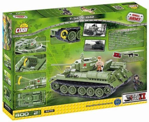 TK-3 Tankette COBI 2392-250 brick light tank