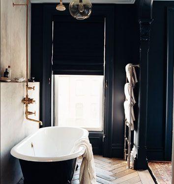 Room Painted Black yli tuhat kuvaa: paint it black pinterestissä