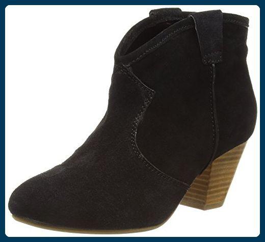 New Look Damen Wide Foot Cowboy Stiefel, Schwarz (Schwarz), 41 EU