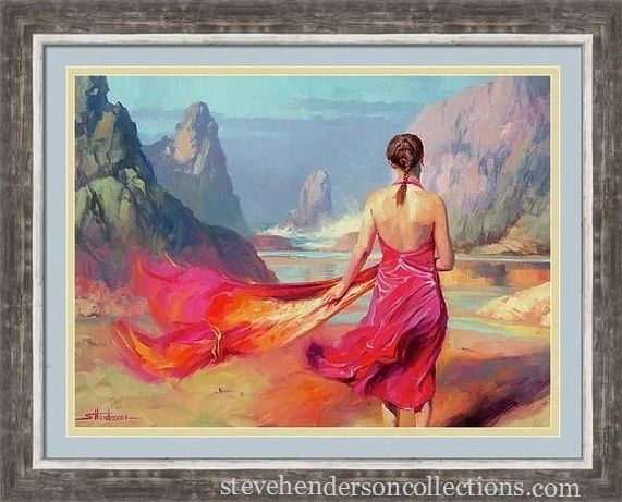 Cadence, framed art home decor from Steve Henderson Collections ...