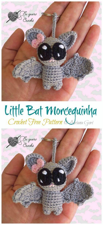 Amigurumi Little Bat Crochet Free Pattern - Crochet & Knitting