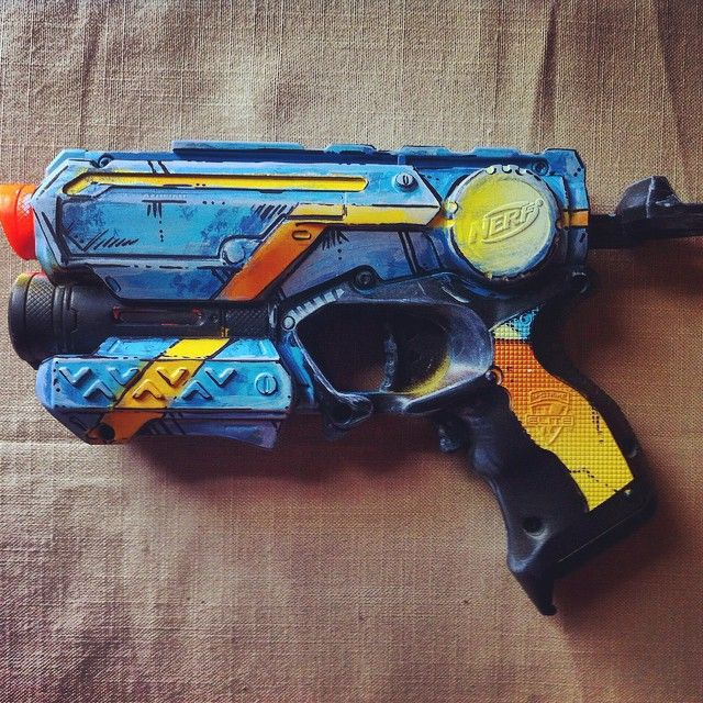 Nerf gun attachments · Borderlands Firestrike