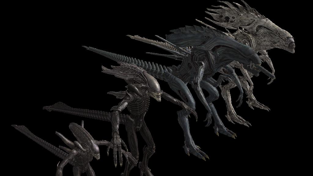 Alien Vs Predator Facehugger Coloring Pages