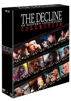 The Decline Of Western Civilization Collection Bluray
