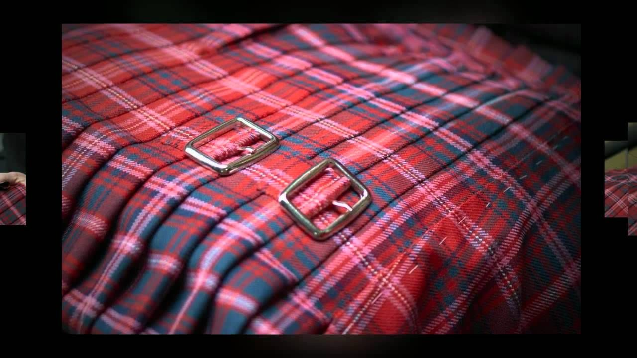 How a kilt is made   Sewing   Pinterest   Textiles y Falda