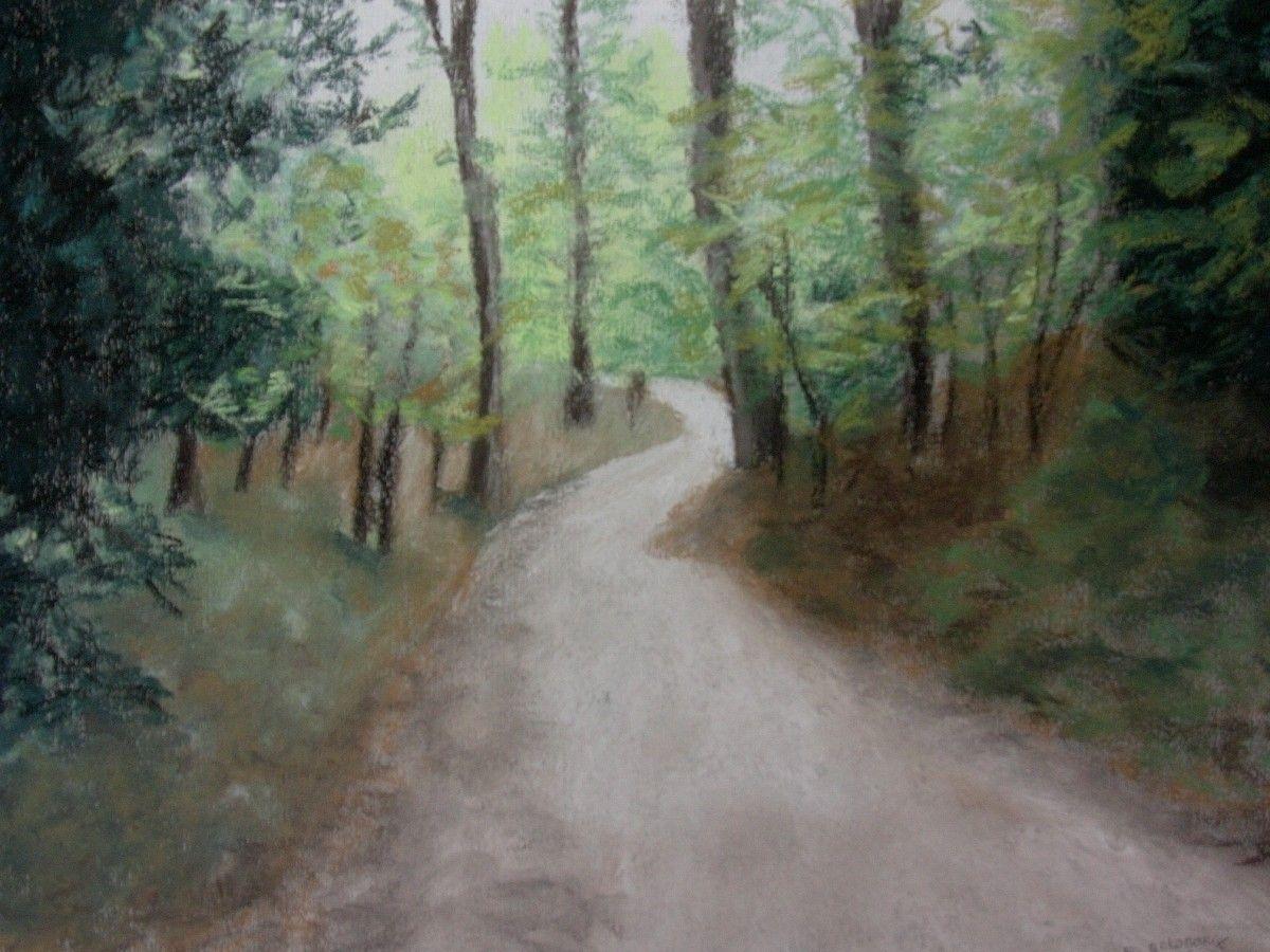 Rose Goldberg-Gale - The Path home | Artwork Archive