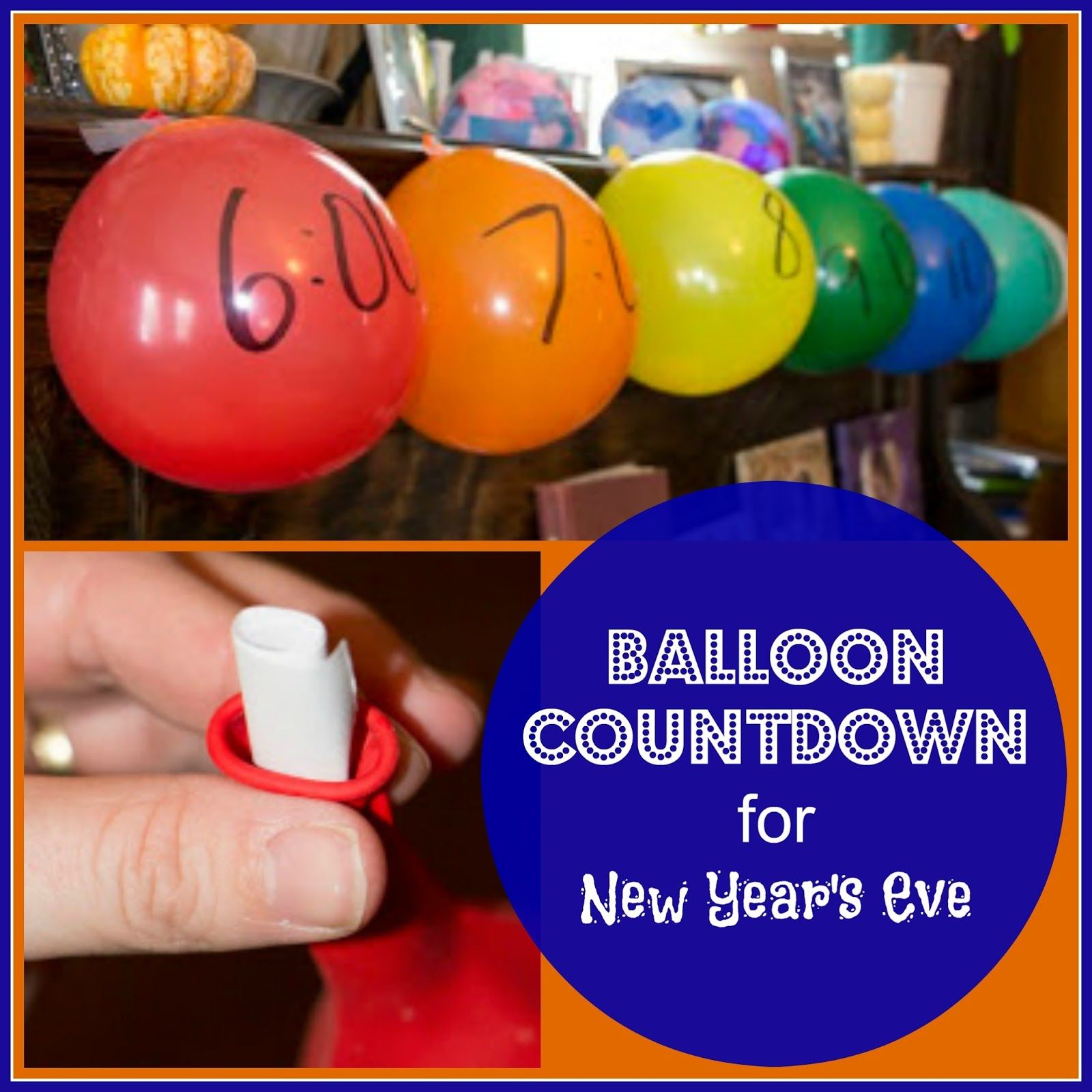 Simple New Year's Countdown for Kids Countdown for kids