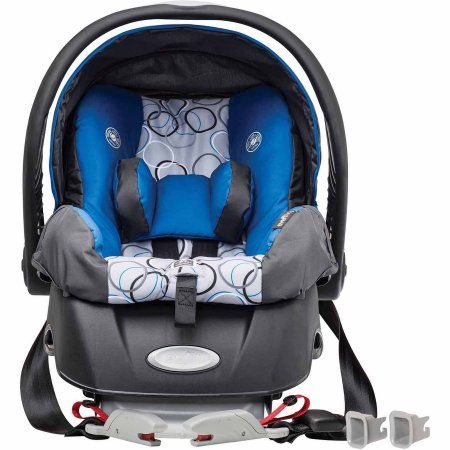 Evenflo Embrace Select Infant Car Seat With Sure Safe Installation Ashton