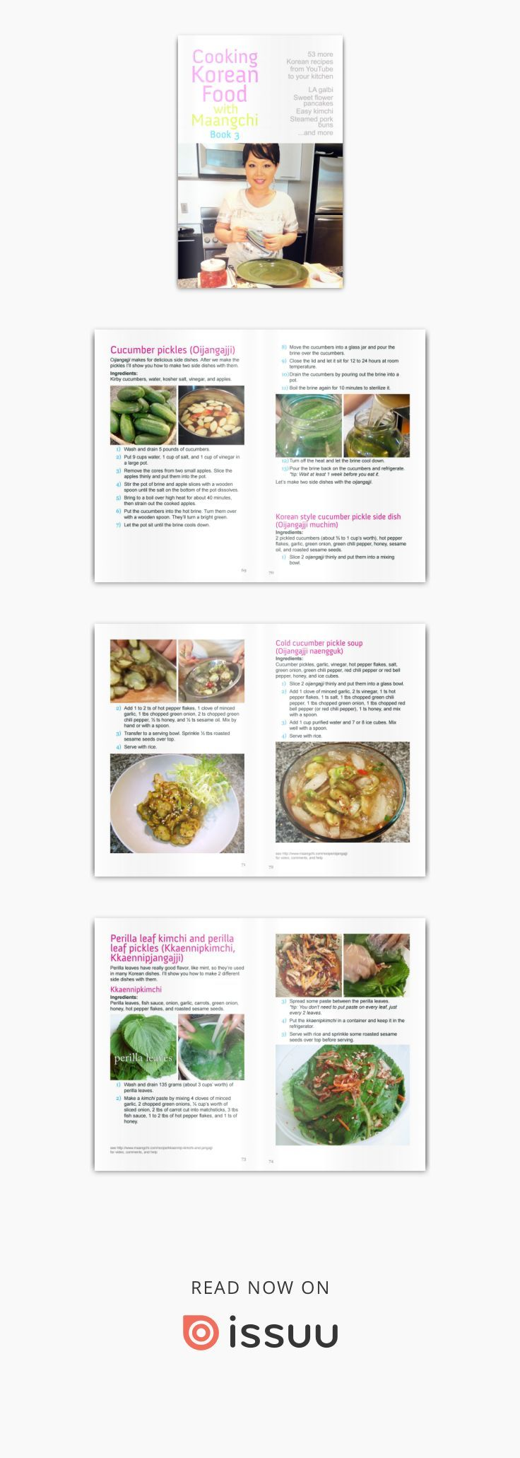 Cooking korean food with maangchi book 3 revised korean and food cooking korean food with maangchi book 3 revised forumfinder Image collections