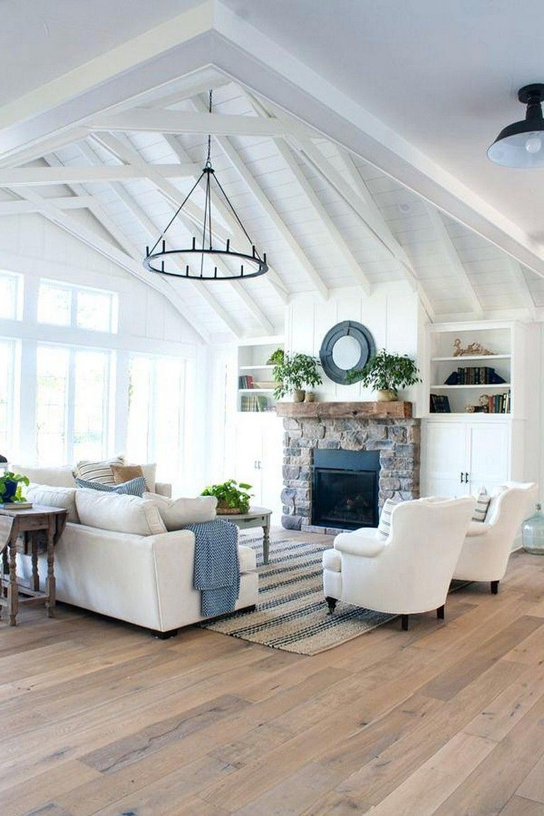 25 Modern Rustic Lake House Decorating Inspiration Decor Decoration Decoratingideas Decor Home Living Room Home Decor Home Remodel Costs