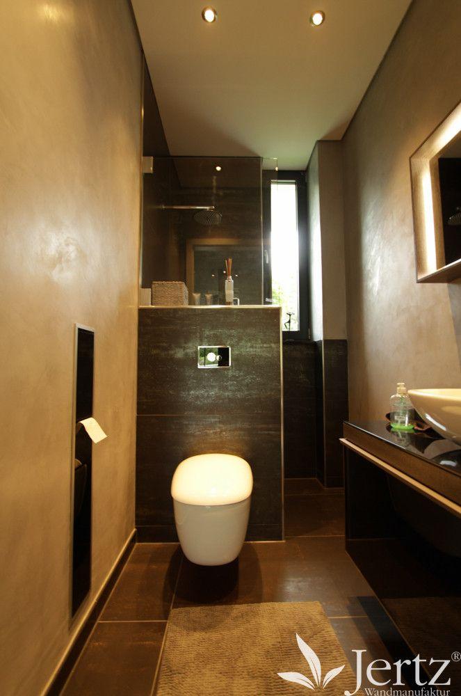 Moderne Badezimmer Wandgestaltung Ohne Fliesen