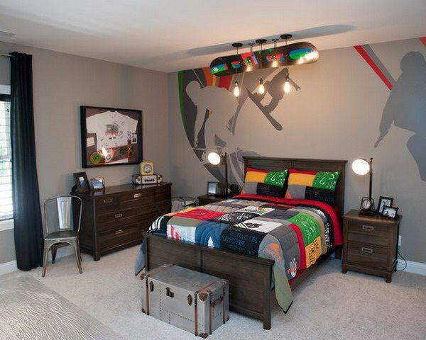 45 Creative Teen Boy Bedroom Ideas