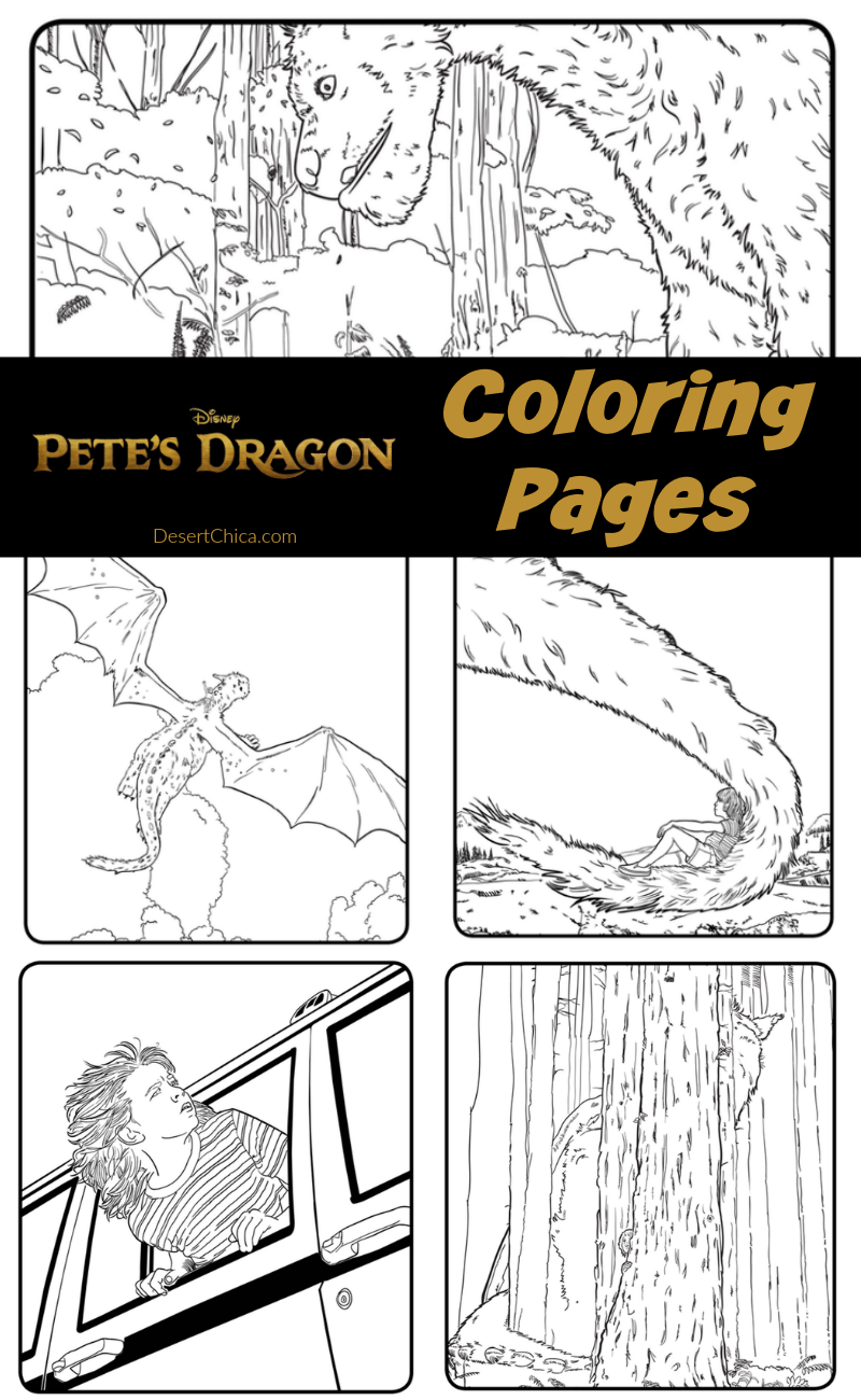 pete u0027s dragon coloring pages dragons and craft
