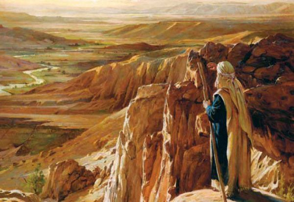 Walter Rane, The Lord Showed Him All The Land (Moses)