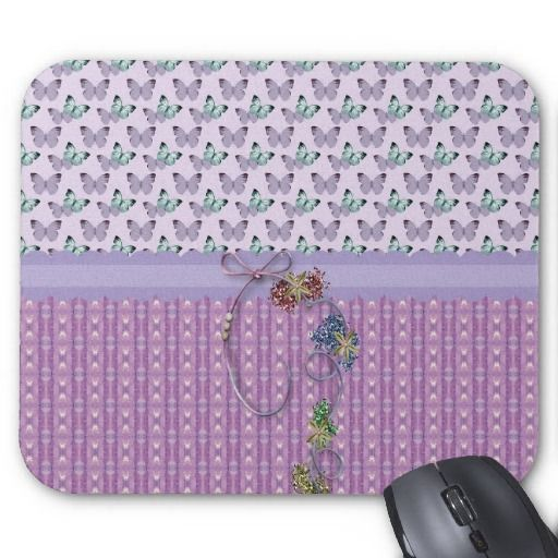 Butterflies Expression Mouse Pad