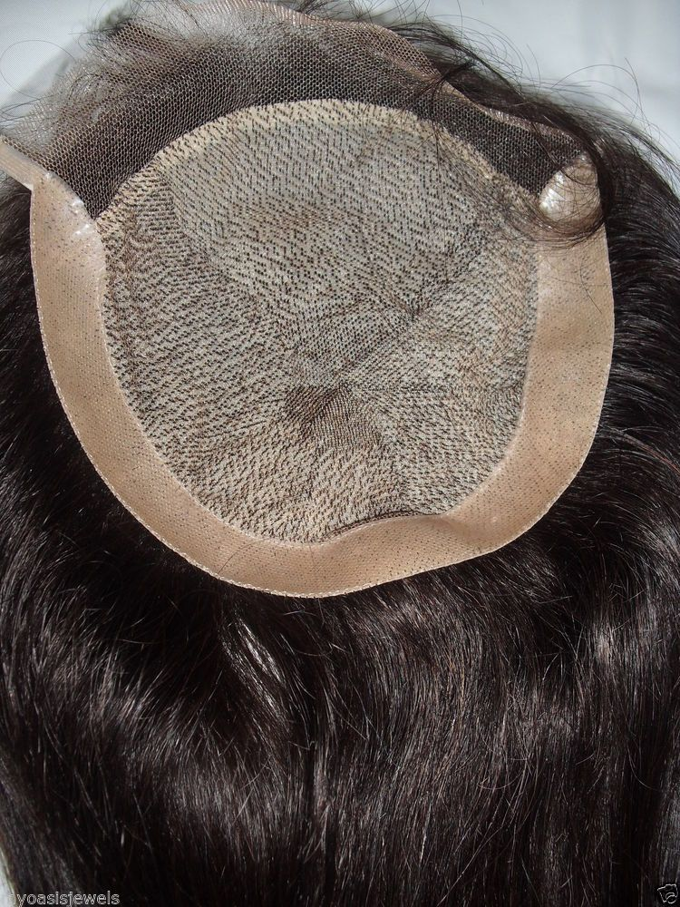 """6x6 Full Lace Silk Top Closure Indian Remy Remi 100% Human Hair Partial Wig 14"""" #UnbrandedHandmade #LACECLOSUREHAIRADDITIONPARTIALWIG"""