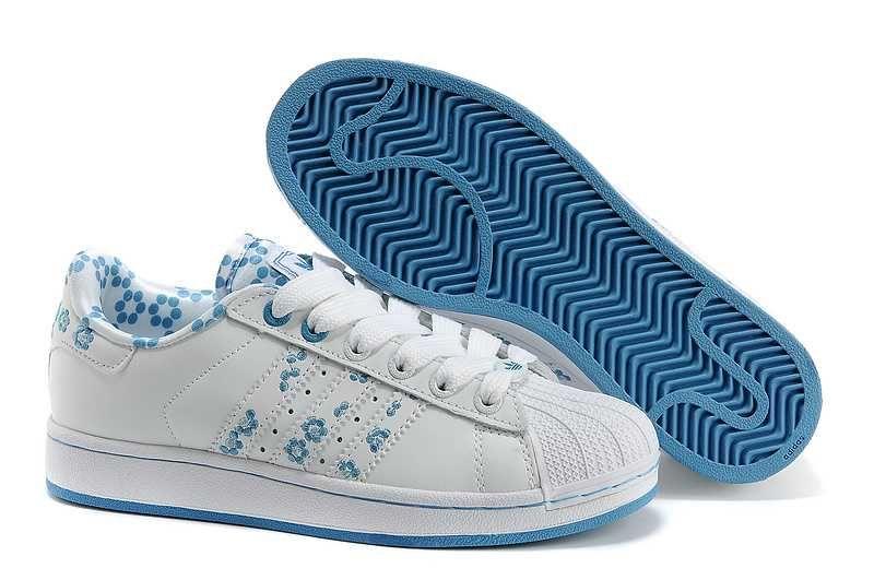 premium selection f67b0 a6421 1767   Adidas Superstar Billigt Dam Blå Vit SE859245AmJTrCEyL