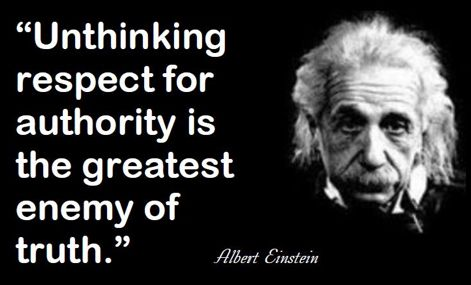 Pin by scott anderson on Quotes | Question authority quotes, Einstein  quotes, Einstein