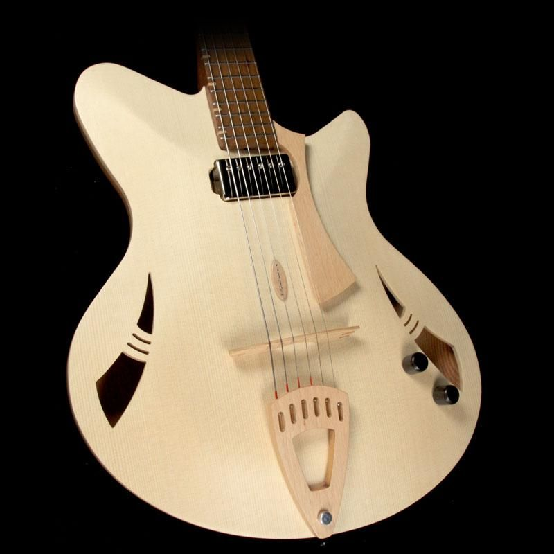 Kuun Roxy Jazz Archtop Electric Guitar Natural The Music Zoo Electric Guitar Guitar Tuners Bass Guitar
