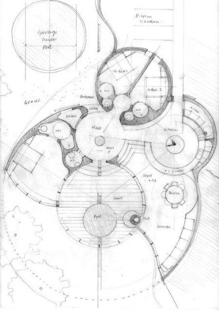 white house creative home ideas pinterest architecture plan maison et dessin architecture. Black Bedroom Furniture Sets. Home Design Ideas