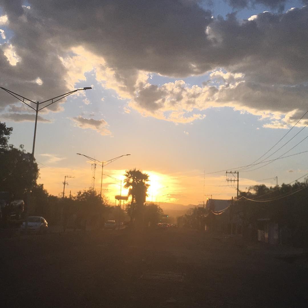 #AgsMx 08/04/17 #atardecer #sunset