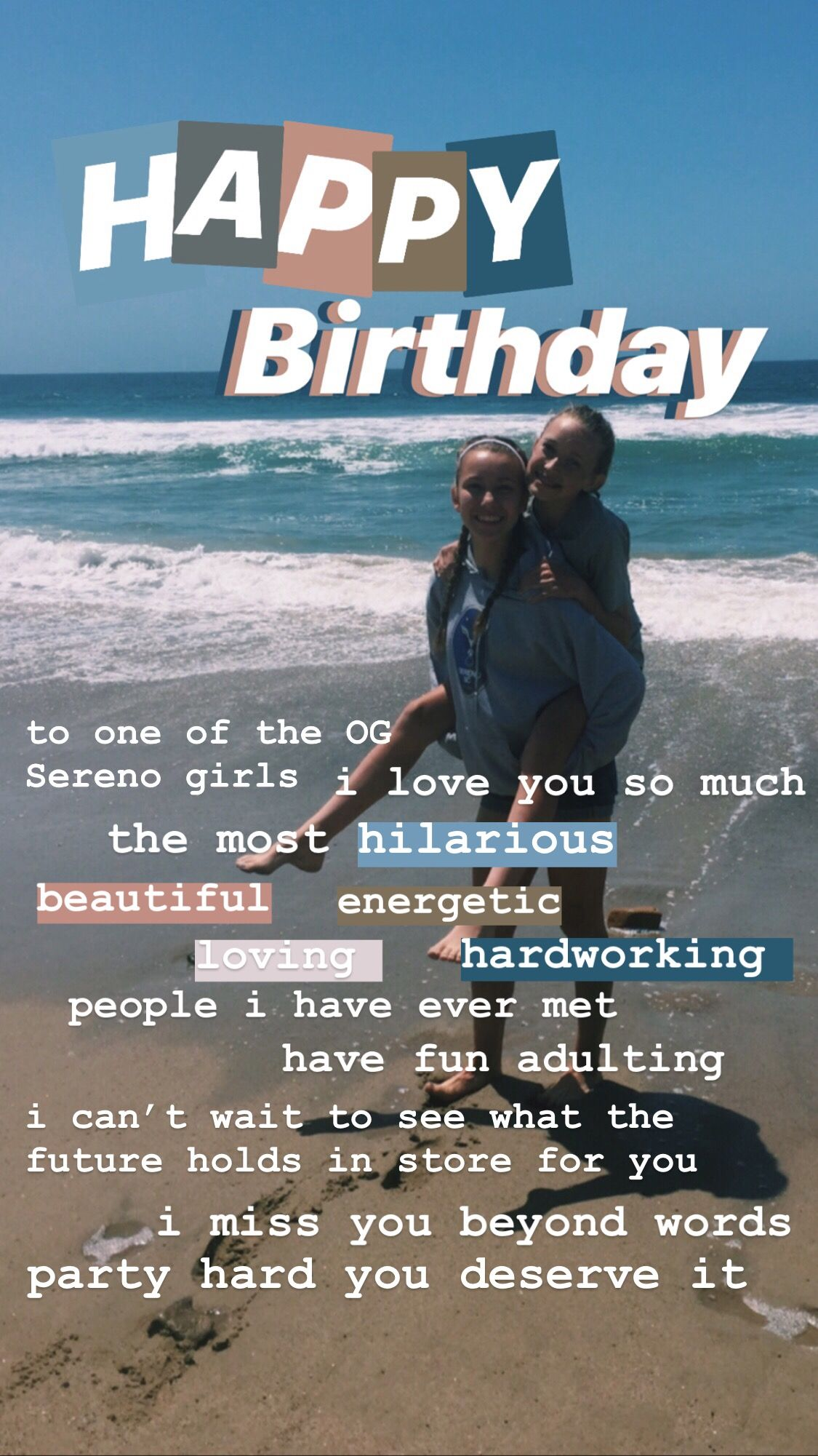 Pin by Lucy kazums on insta stories   Happy birthday quotes for ...