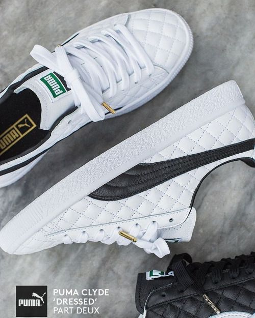PUMA Clyde Dressed Part Deux FM #sneakers #sneakernews ...