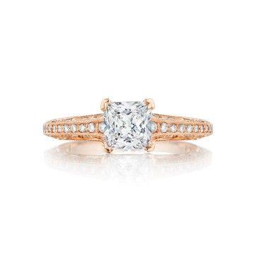 Chicago Bridal Marshall Pierce Company Tacori Rose Gold Engagement Ri Princess Diamond Engagement Rings Sapphire Engagement Ring Blue Sapphire Wedding Band
