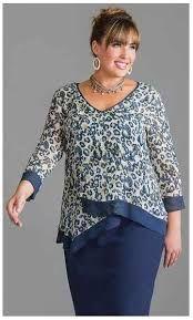 ba80cbd89 Resultado de imagen para blusas para señoras de 50 años