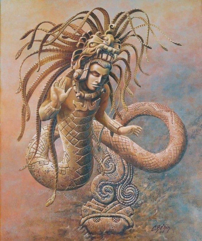 gukumatz ine quetzalcoatl
