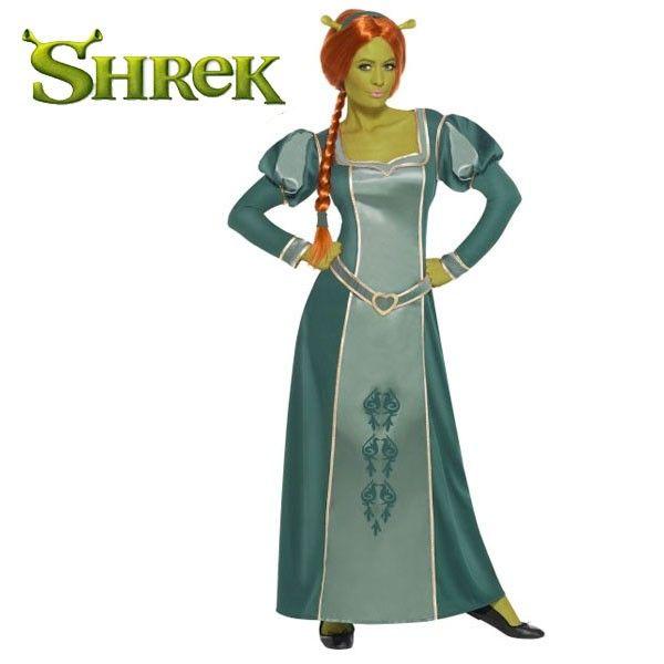 SHREK, PRINCESS FIONA FANCY DRESS COSTUME | costume ideas ...