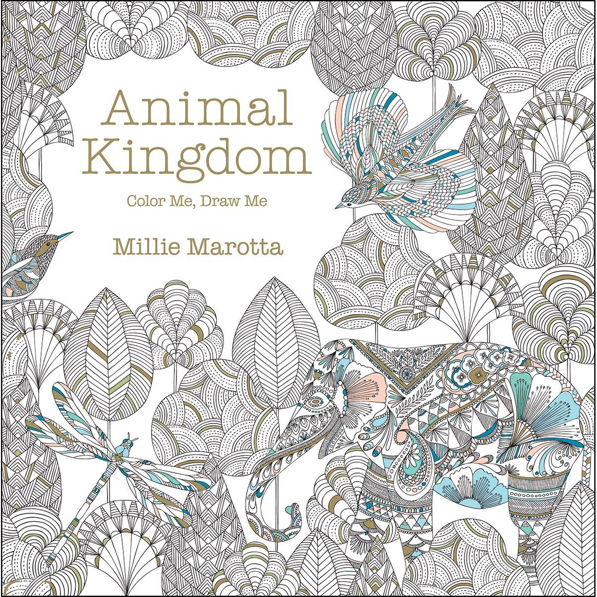 Lark Books Color Me Draw Animal Kingdom Enter Millie Marottas Captivating