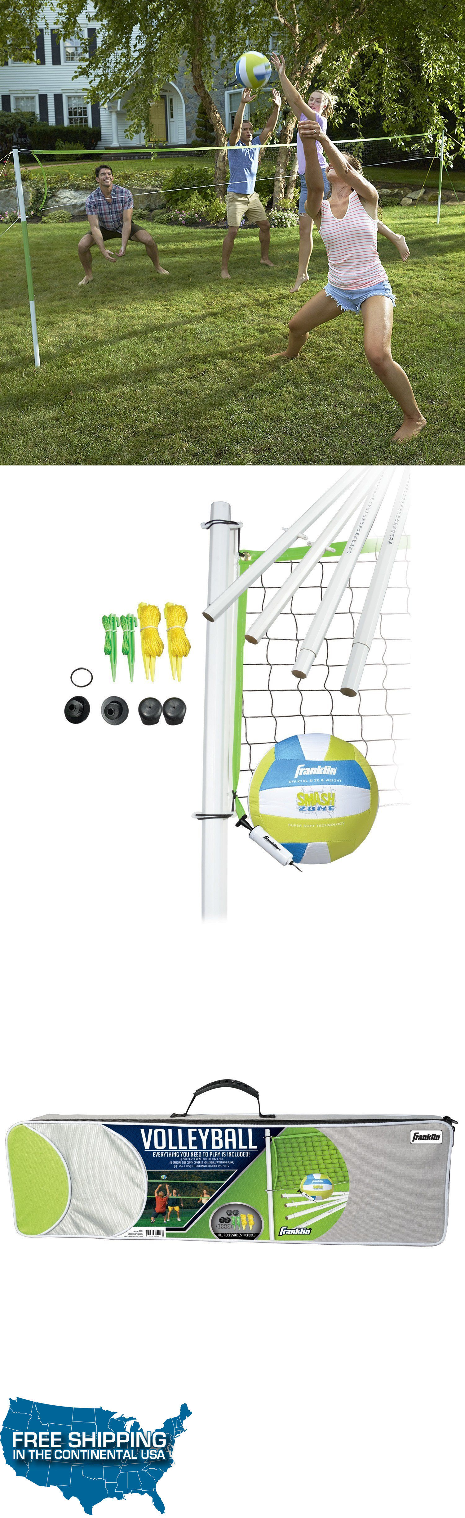nets 159131 volleyball set intermediate portable carry bag