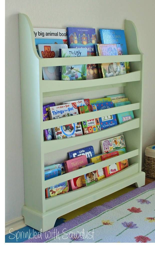 How To Build A Pottery Barn Kids Madison Bookrack Sprinkled With